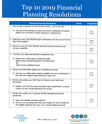Top 10 2019 Financial Planning Resolutions